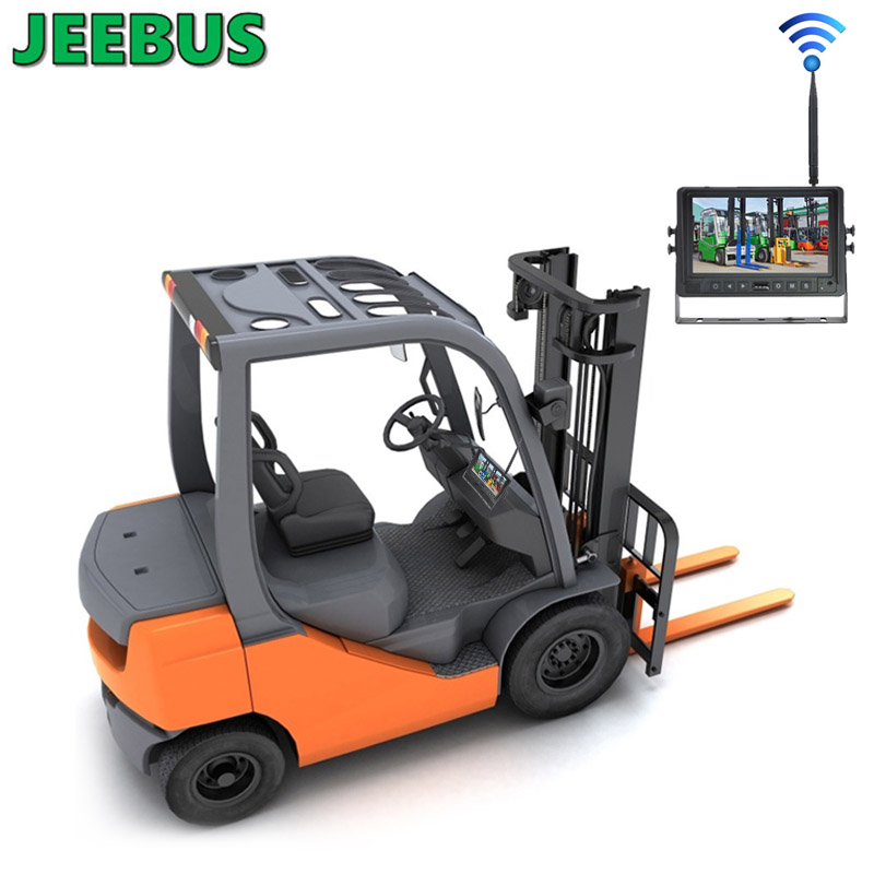 Forklift Truck 7 inch Wireless WIFI Camera DVR Monitor Parking System