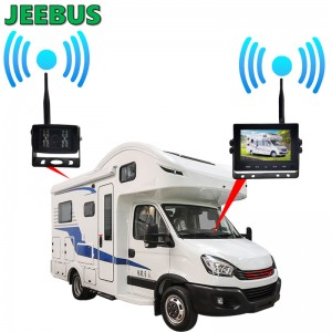 Auto Reverse Backup Wireless Wifi Camera with 5inch Monitor Parking System for RV Vehicle