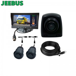 Forklift Truck Parktronic Kit Backup Reverse Camera Aid Radar DetectReverse Camera Aid Radar Detect Parking Sensor